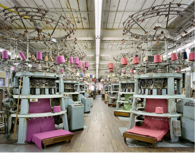 Inside the Colorful Chaos of America's Aging Textile Mills