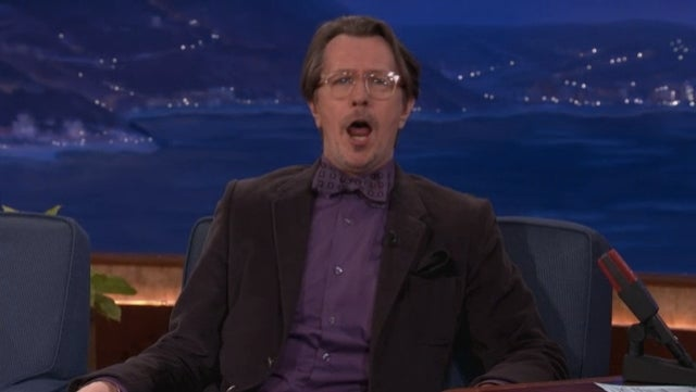 Gary Oldman Screaming Call of Duty Orders on Conan