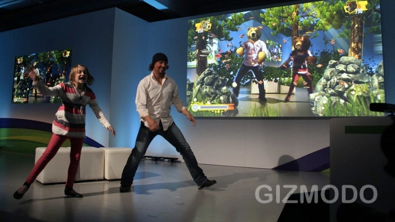 Kids Swiping and Leaping Around Nature with National Geographic on Kinect Looks Awesome