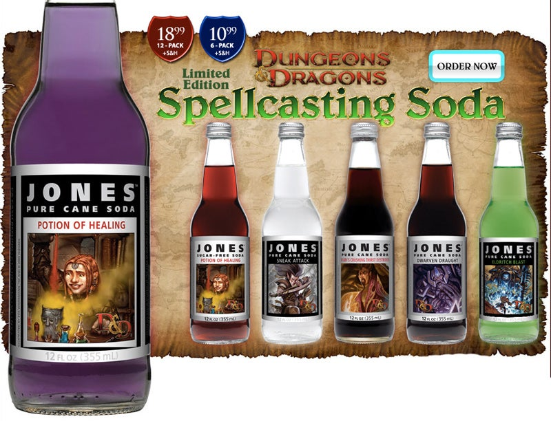 D&D Soda Is Really Your Parents' Shameful Tears, Bottled