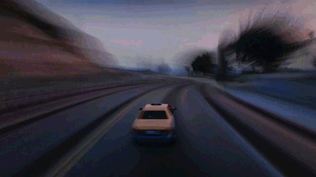 Super-Speed GTA V Looks Damn Cool
