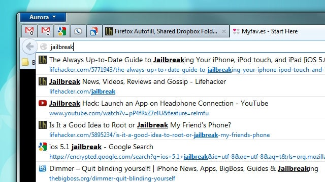 Firefox Autofill, Shared Dropbox Folders, and White Noise