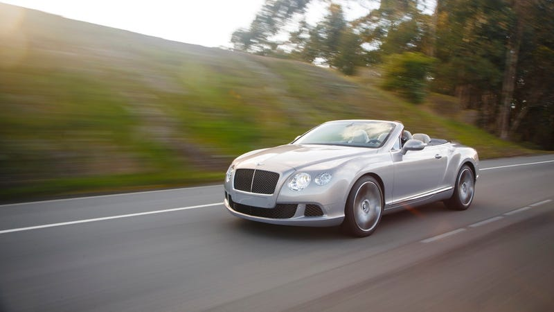 2013 Bentley Continental GT Speed Convertible: The Jalopnik Review
