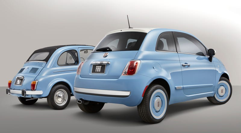 New 2014 Fiat 500 '1957 Edition' Highlights 57 Years Of The Legendary Icon