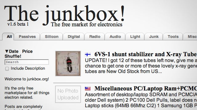The Junkbox Is an Online Marketplace to Buy and Sell Electronic DIY Project Parts
