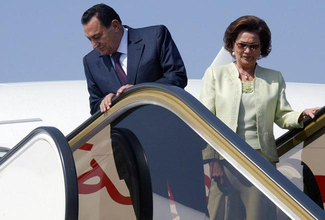 Mubarak Slapped With Travel Ban