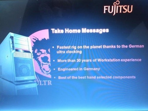 Fujitsu Building Fastest Gaming Rig on the Planet with 'German Ultra Clocking'