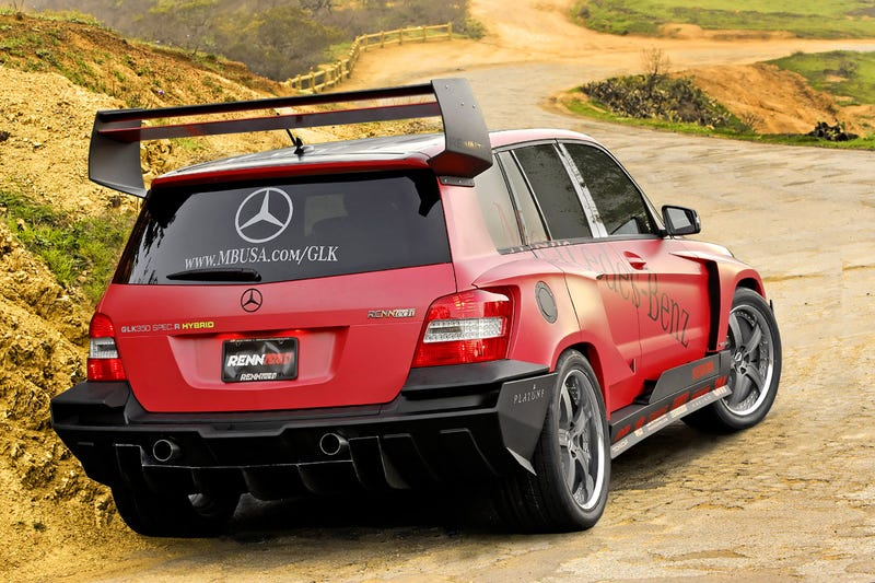 RENNTech Wins Mercedes SEMA Tuner Build-Off With Rally-Inspired GLK