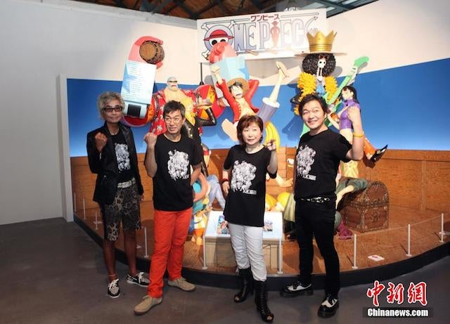 One Piece Expo Steamrolls Taiwan