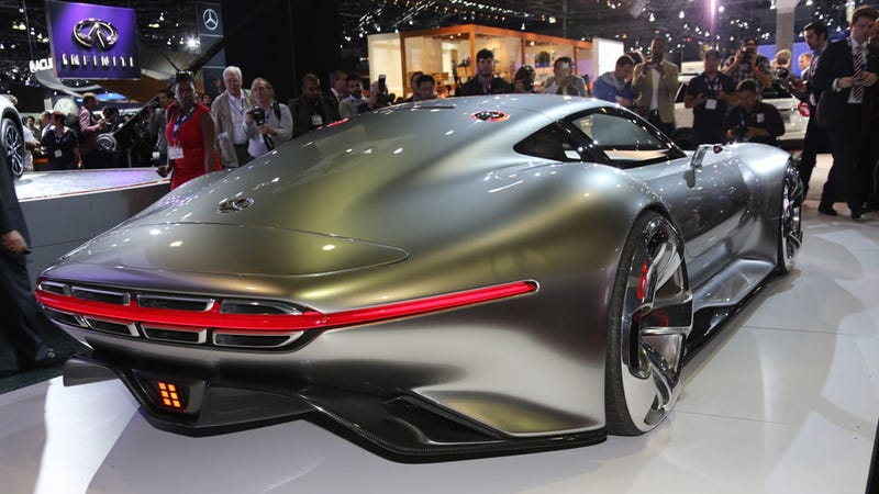 The Mercedes Gran Turismo Vision: How The Future Makes Us Lust