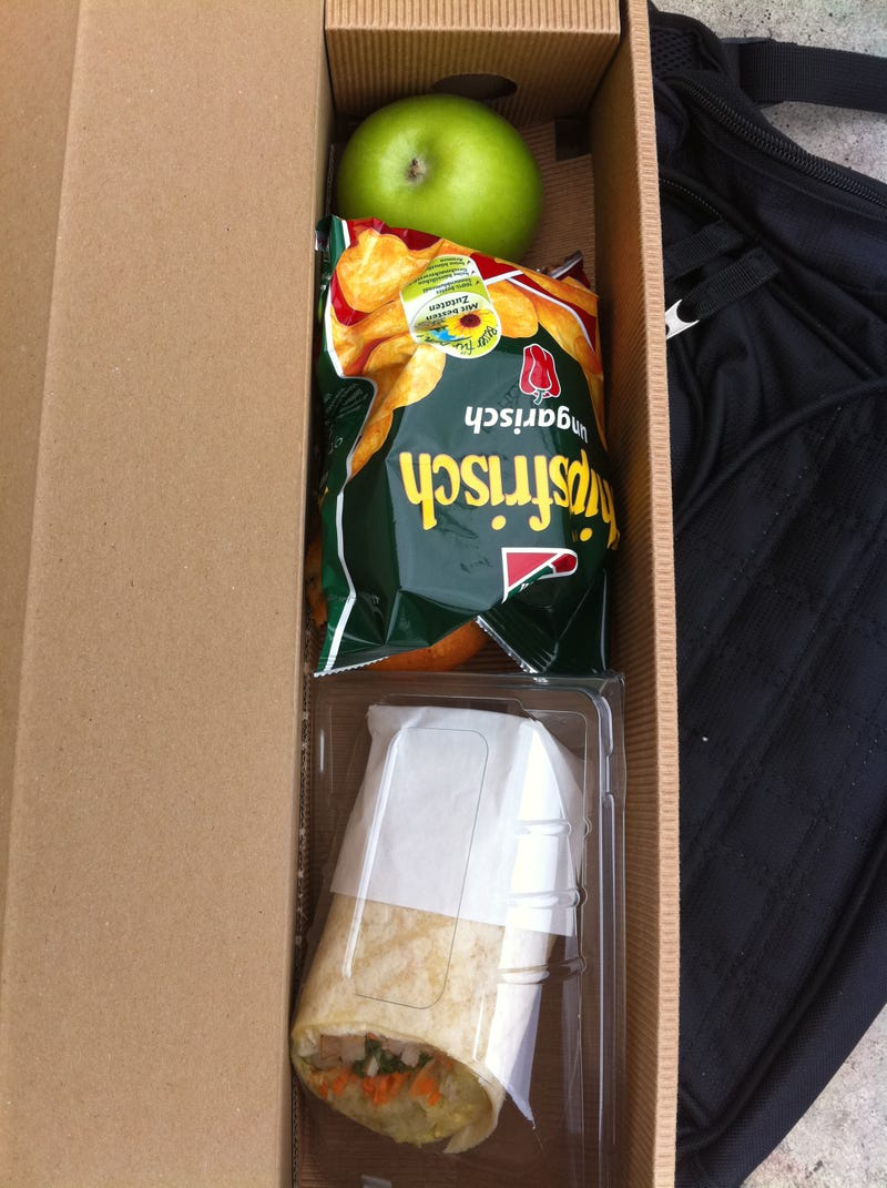Microsoft GamesCom Press Event Lunch Unboxing