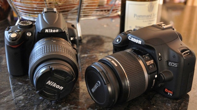 DSLRs Are In Short Supply Because of the Japan Quake