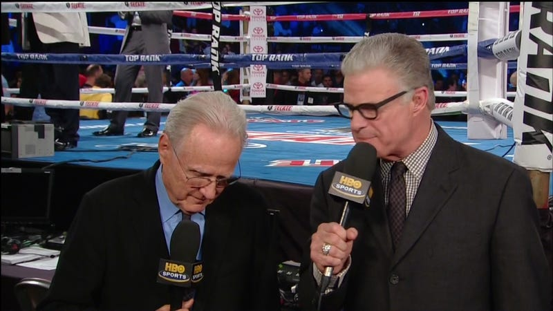 Yes, Jim Lampley's Glasses Have Real Lenses