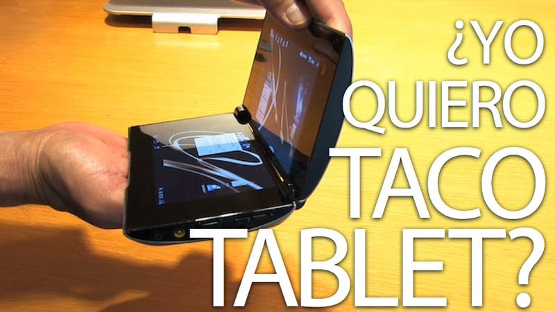 Sony Tablet P First Impressions: Is the Taco Tablet Tasty?