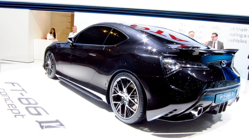 Toyota FT-86 II Concept: Oh, what a Supra feeling!