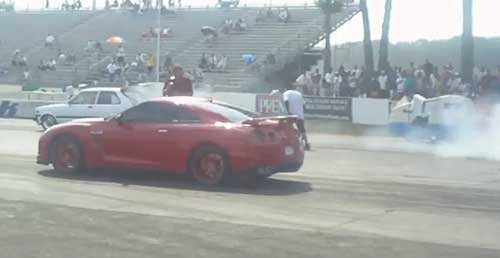 Nissan Owner Displays Predictable Ignorance Of How Drag Racing Works