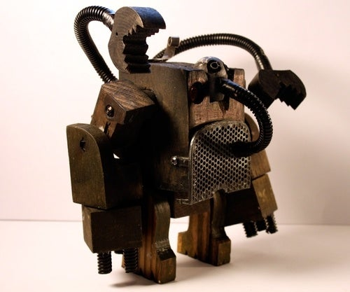 The post-apocalyptic junkbots of BLANKS