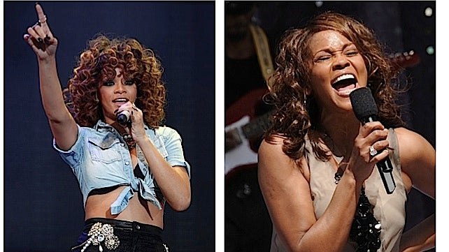 Should Rihanna Play Whitney Houston?