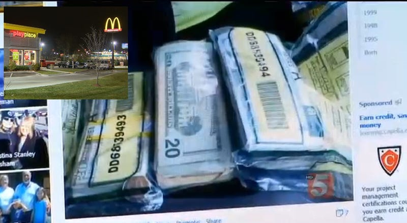 McDonald's Worker Accidentally Hands Customers McBag of Cash