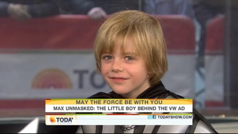 Kid Who Played Lil' Darth Vader in Super Bowl Ad Set to Undergo Open-Heart Surgery