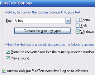 PureText Strips Formatting from Your Clipboard When You Paste