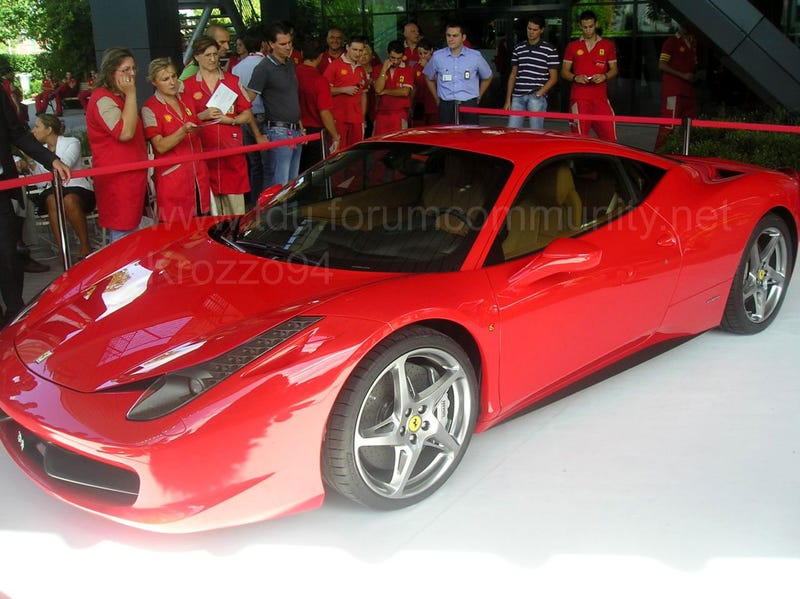 Ferrari 458 Italia Live And In The flesh