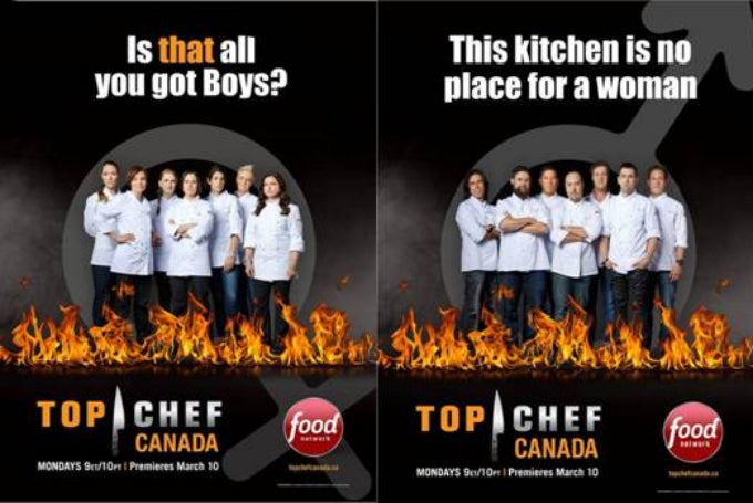 These Top Chef Canada Promos Are Just All Kinds of Sexist