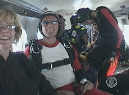 Heroic Skydiver Saves Woman's Life After Parachute Failure