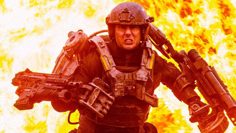 First Glimpse of Tom Cruise Battling the Relentless Alien Invaders in All You Need is Kill
