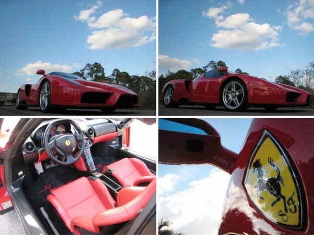 Red Ferrari Enzo, 9000 Miles, Buy It Now For $1.2 Million... On Craigslist