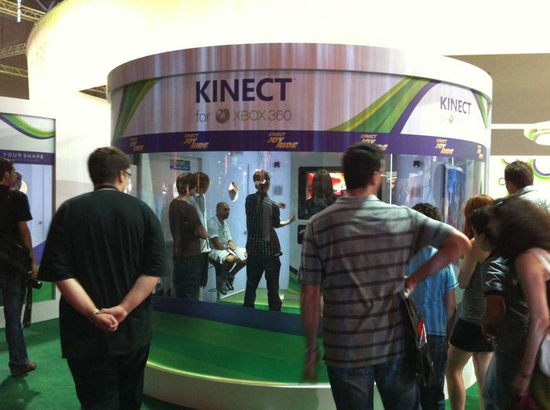Kinect Controls Work Great... in a Bubble