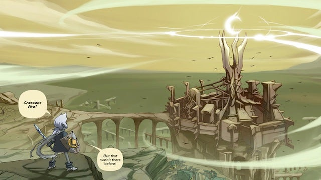 Three children spin a fantasy epic in the webcomic By Moon Alone — but what if the story turns out to be true?