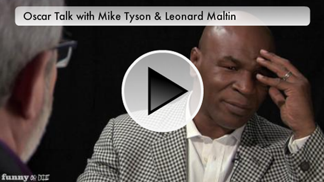 This Week's Top Web Comedy Video: Mike Tyson Gives Oscar Picks