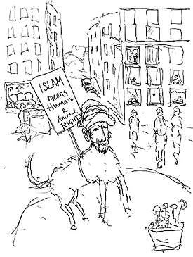 Stop Attacking the God Damn Muhammad Cartoonists