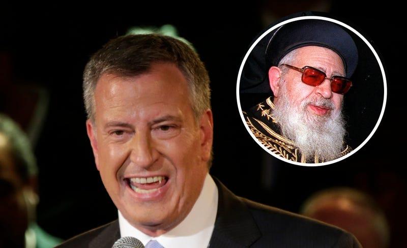 Bill de Blasio Mourns Death of Very Racist Rabbi
