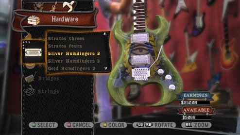 Guitar Hero World Tour First Look
