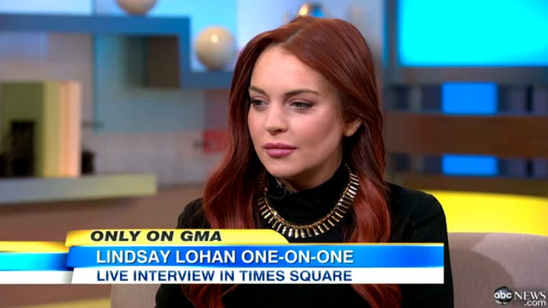 Lindsay Lohan Just Wants to Be on a Set, Any Set: 'It's Safer That Way'