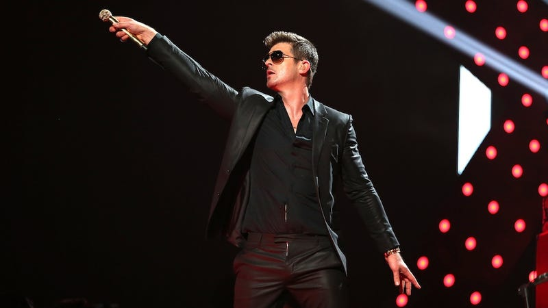Robin Thicke Has Truly Out-Sleazed Himself This Time