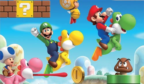 New Super Mario Bros. Wii Was January's Biggest Game In The U.S.