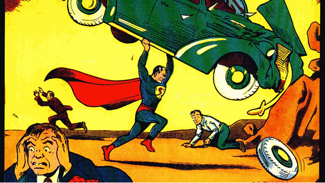 "Superman's Debut ""Steels"" Title of World's Most Expensive Comic"