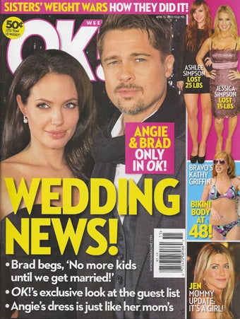 This Week In Tabloids: Choose Your Own Brangelina Adventure