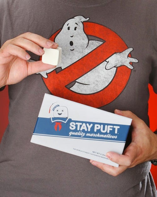 Stay Puft Caffeinated Marshmallows: A Childhood Dream Come True