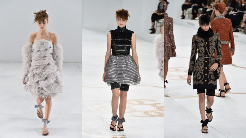 Chanel Couture, for the Bike Shorts-Wearing Marie Antoinette in You