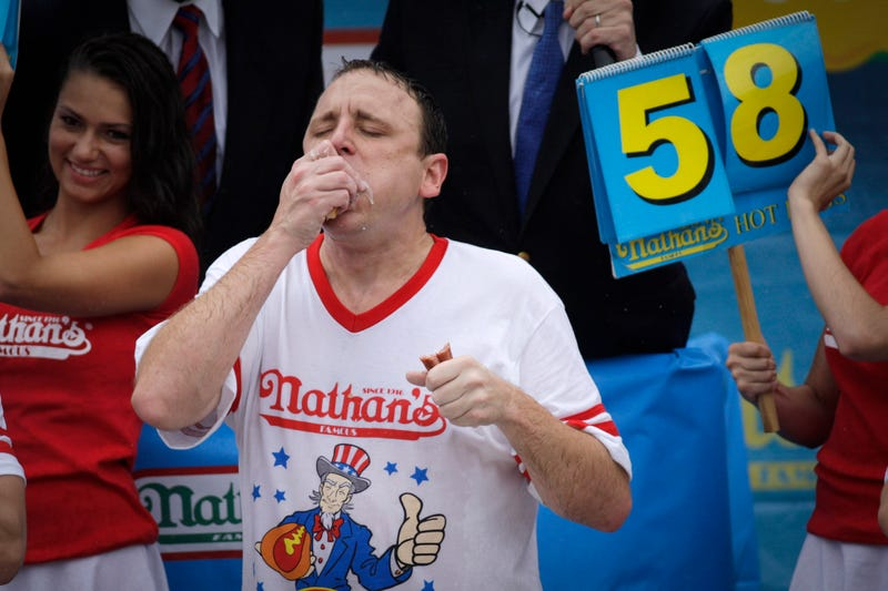 The Grossest Photos From The Nathan's Hot Dog Eating Contest