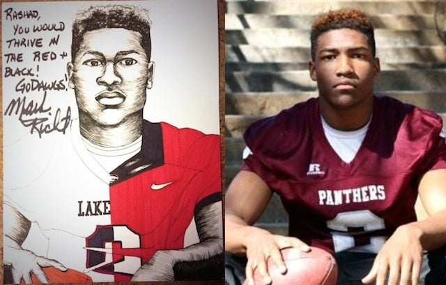 UGA Is Sending Recruits Hand-Drawn Portraits