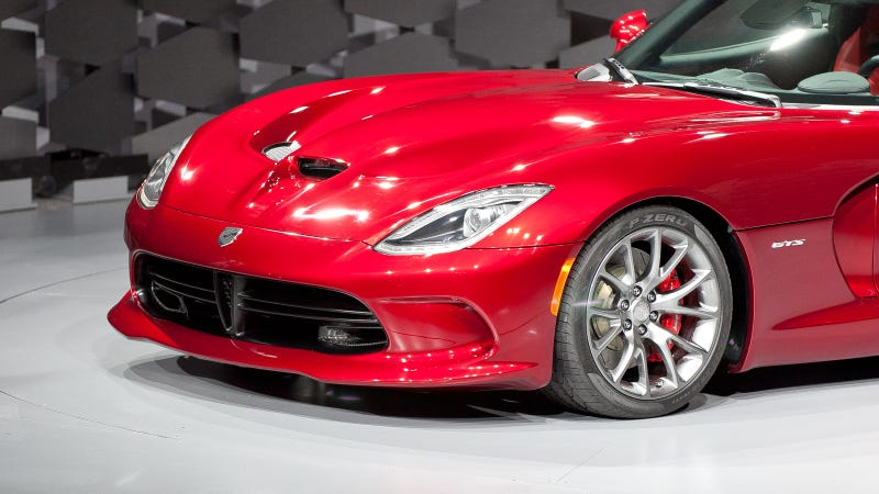 2013 SRT Viper: Live Photos