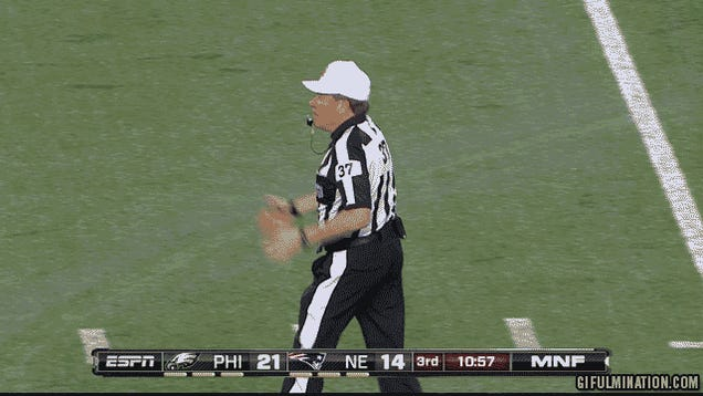 The NFL's Scab Refs Will Work Week 1