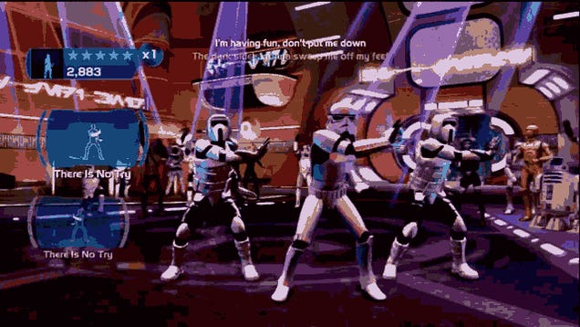 If You Hated Kinect Star Wars Dancing, You'll Cry Over These GIFs