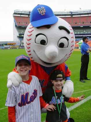 Mr. Met Will Shield Your Children From Online Predators