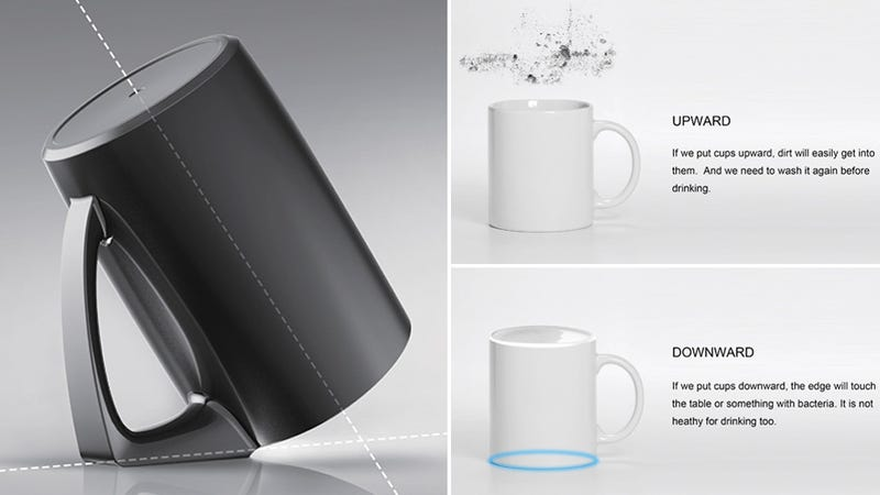 A Simple Handle Redesign Keeps This Mug Extra Clean